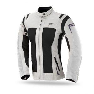 Chaqueta de moto mujer SD-JT46 Racing Touring Mujer Ice/Negro