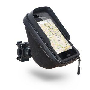 Soporte para Smartphone en moto con cogida a manillar